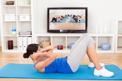 Como emagrecer com exercícios em casa