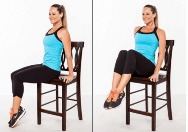 exercício na cadeira para ter barriga lisa expert fitness
